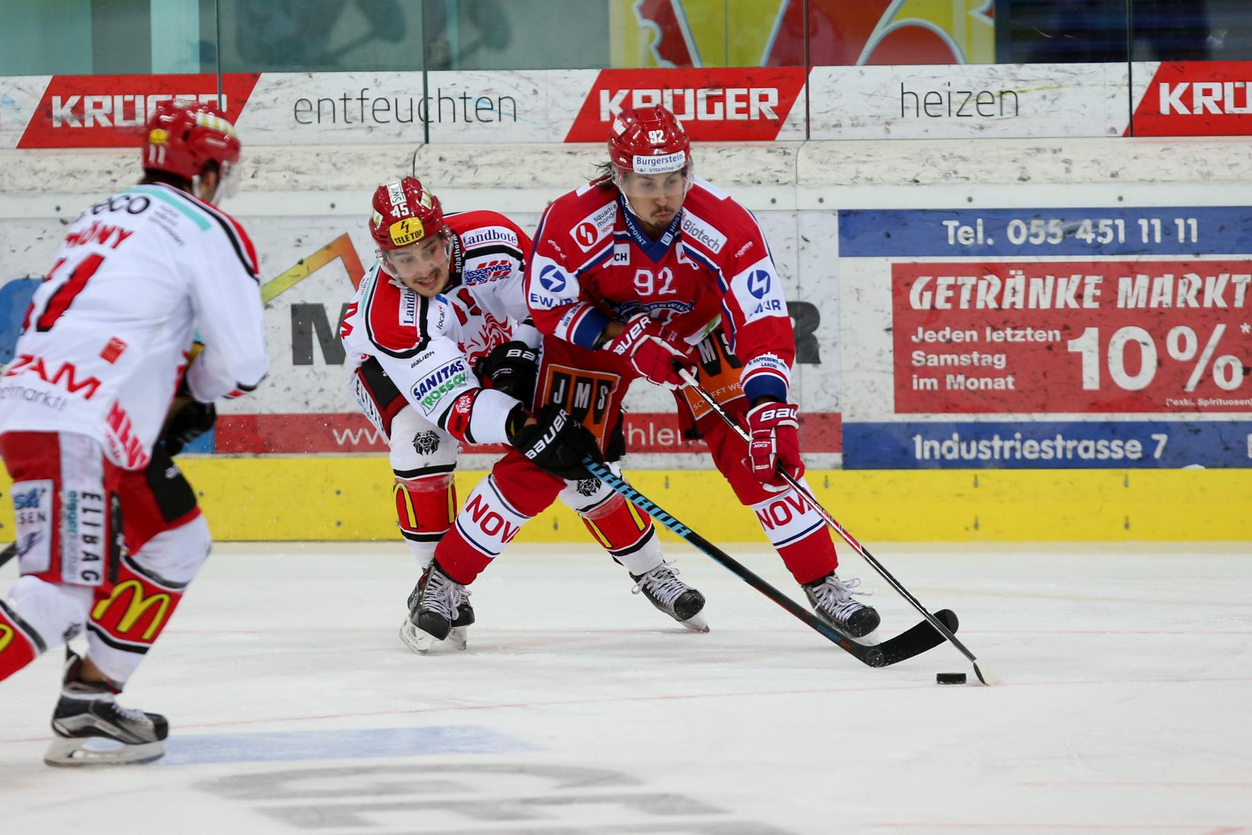 SCRJ Lakers - EHC Winterthur