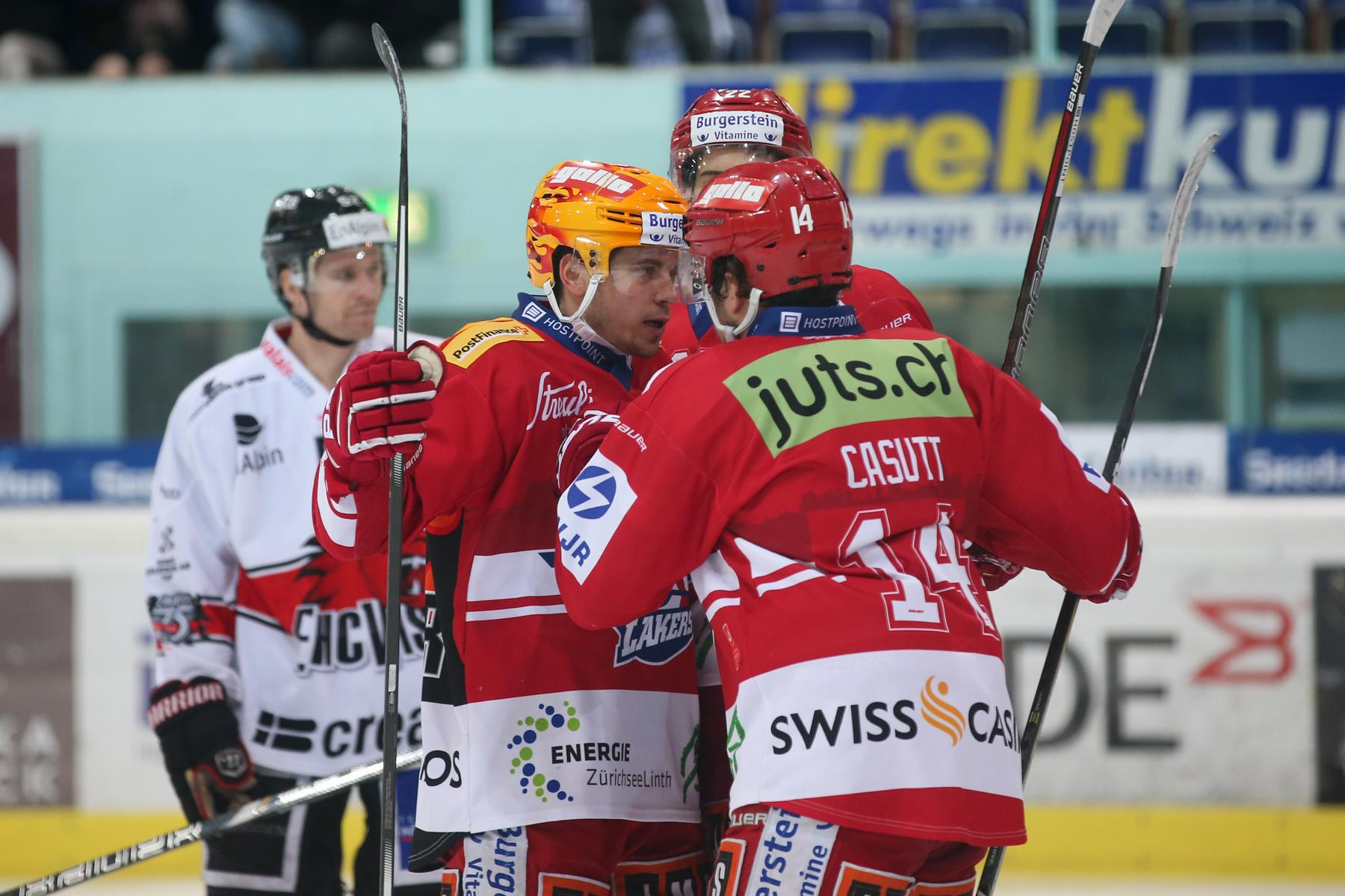 SCRJ Lakers - EHC Visp