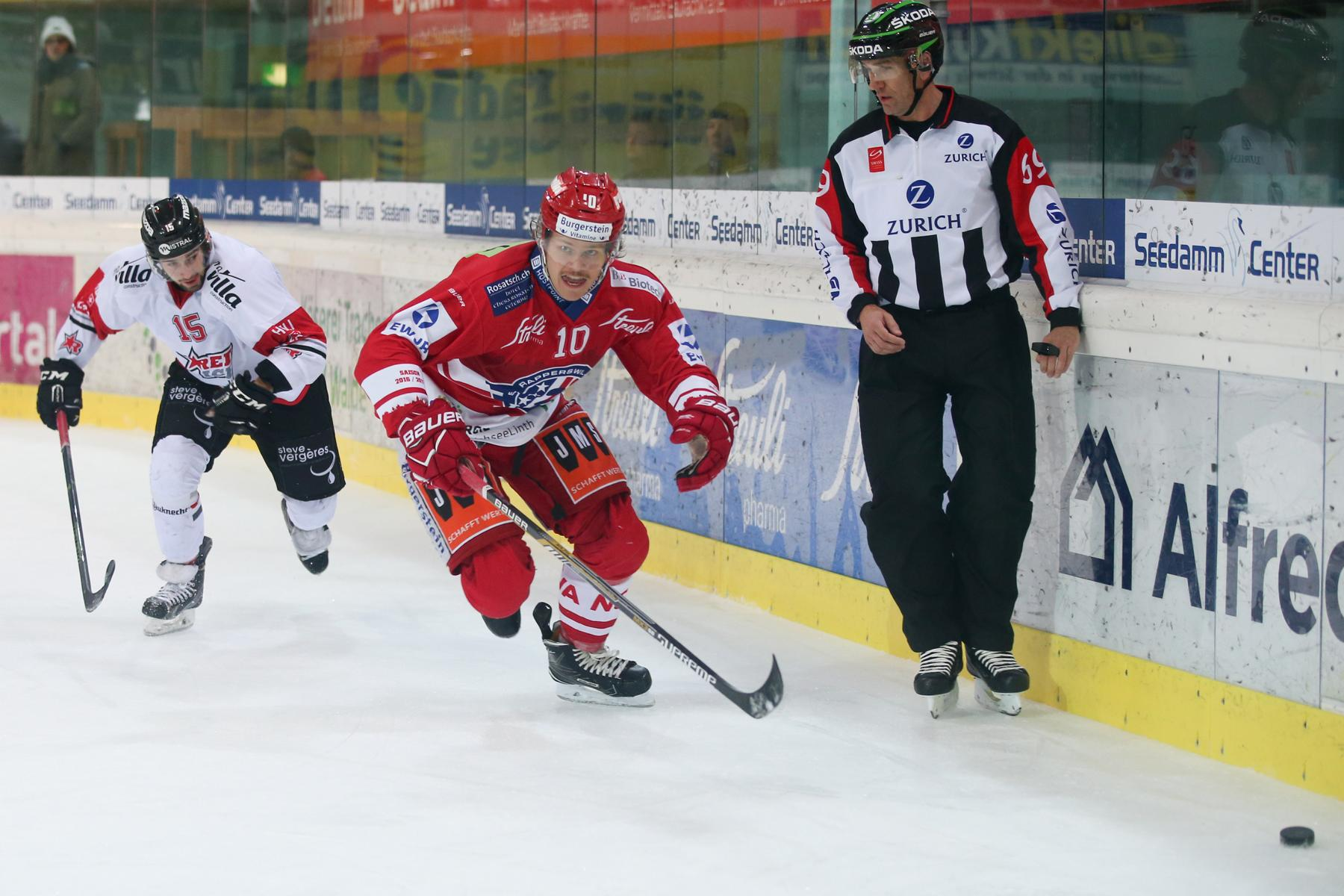 SCRJ Lakers - HC Red Ice Martigny